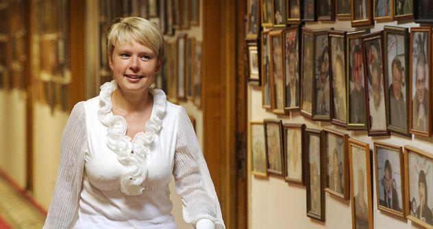 Evguenia Chirikova, líder del Movimiento Ecologista en Defensa del Bosque de Jimki. Fuente: ITAR-TASS.