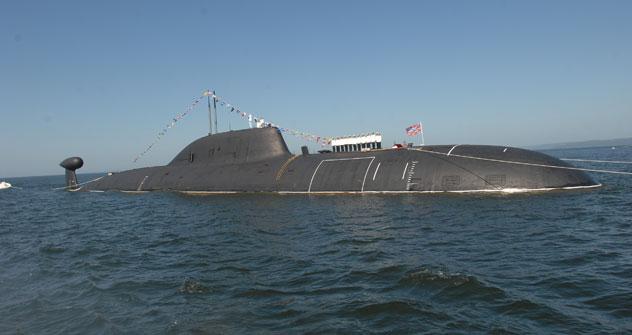 Los submarinos de la clase 'Akula' están considerados como unos de los más silenciosos e imperceptibles para los radares. Fuente: ITAR-TASS