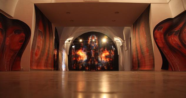 Exposición, 'El Festival de la Luz'. Fuente: Valera y Natasha Cherkashin.