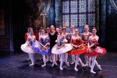 Tatiana Solovieva y el Moscow City Ballet en el Teatro Compac Gran Vía. Fuente: Ángeles Figueiras