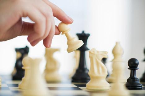 Durante la época soviética el ajedrez era muy popular. Fuente: Gettyimages / Fotobank