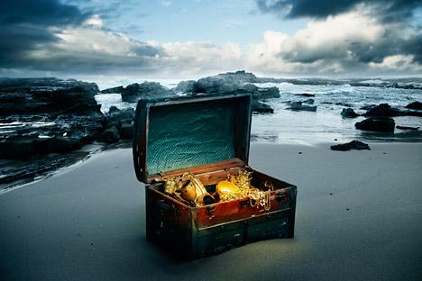 Hay una gran cantidad de tesoros que se puede encontrar en Rusia. Fuente: Gettyimages/ Fotobank