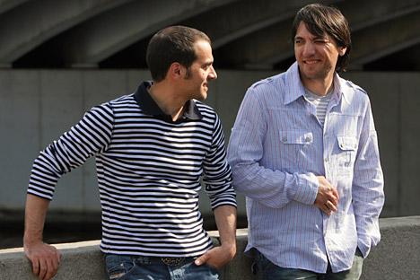 Los hermanos Presniakov. Fuente: kommersant
