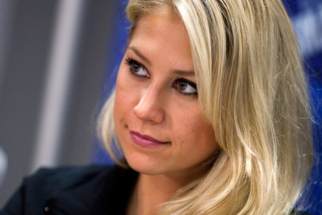 Anna Kournikova. Fuente: Reuters / Vostock Photo.