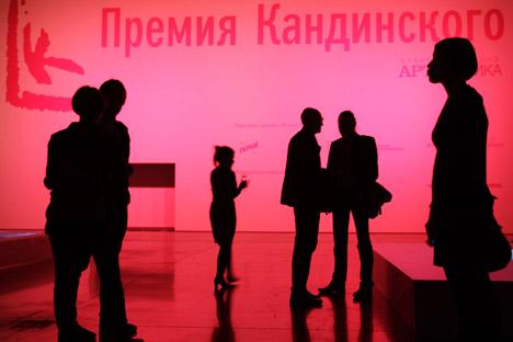 """El vídeo con la actuación de Pussy Riot en el templo del Cristo Salvador fue propuesto para el premio en la categoría de """"Proyecto del año"""". Fuente: Ruslan Krivobok / RIA."""