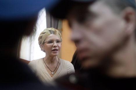 Yulia Timoshenko arrestada: la Corte Suprema de Kiev ha confirmado la condena a siete años. Fuente: ITAR-TASS.