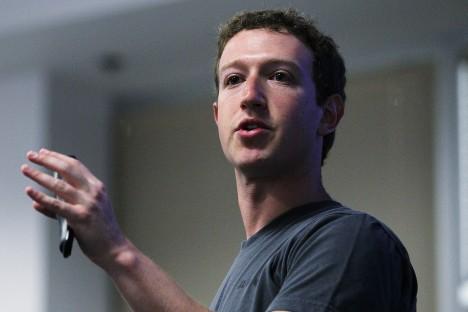 Mark Zuckerberg, el fundador de facebook llega a Rusia la semana que viene. Fuente: Servicio de prensa.