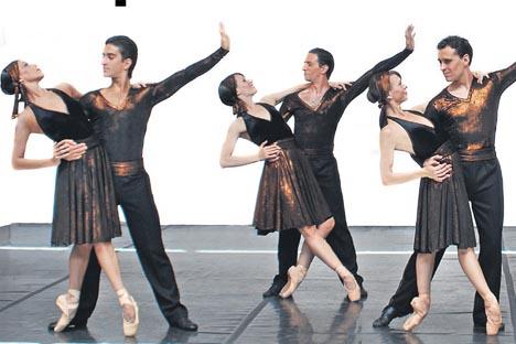 Los bailarines y coreógrafos provienen de diferentes teatros argentinos. Fuente: Archivo Personal.