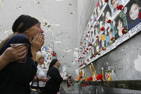 Tragedia de Beslán. Fuente: Flickr / Solidarité Enfants de Beslan