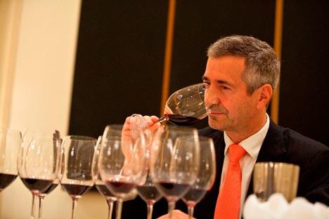 Eduardo Chadwick, el presidente de Viña Errázuriz. Fuente: Archivo Personal.