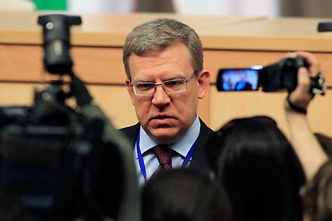 Exministro de Finanzas Alexey Kúdrin. Fuente: ITAR-TASS.