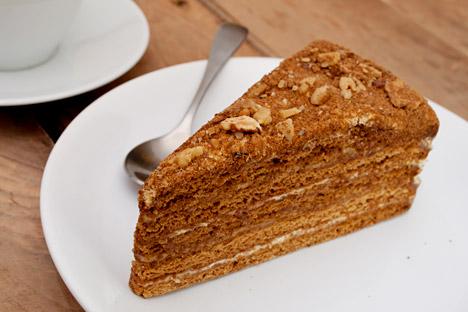 """""""Medovik"""" es una de las tortas más famosas de Rusia. Fuente:  Lori / Legion Media"""