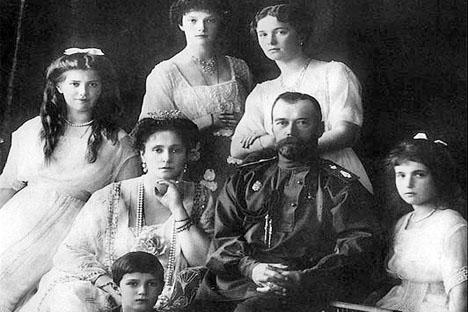 La familia del zar Nicolás II. Fuente: wikipedia / Crimea