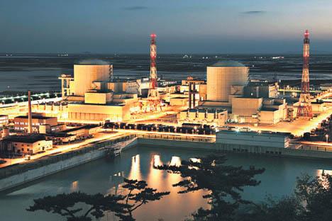La central nuclear de Tianwan (China) está considerada una de las más seguras del mundo. Fuente: Servicio de prensa.