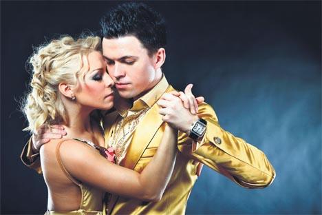 los rusos son los mejores bailarines de tango en el mundo. Fuente: Archivo personal.