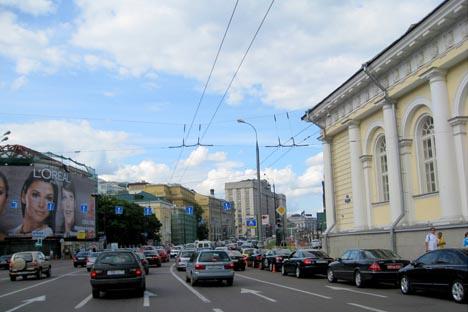 Centro de Moscú. Fuente: Flickr / stefan.klocek.
