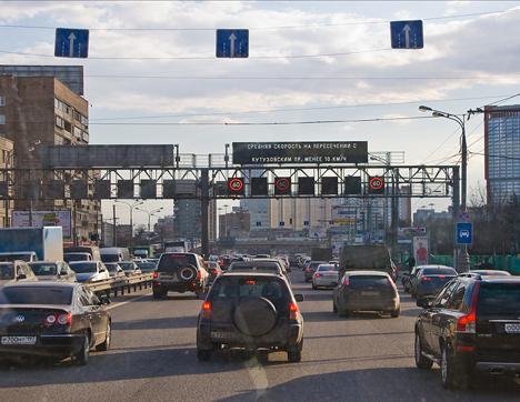 El tráfico en Moscú. Fuente: Flickr / ichael C
