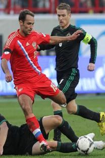 la selección, ahora bajo el mando de Fabio Capello, ganó a Irlanda del Norte (2-0) el pasado día 7 de septiembre. Fuente: Serguei Savostianov /  Rossiiskaia Gazeta