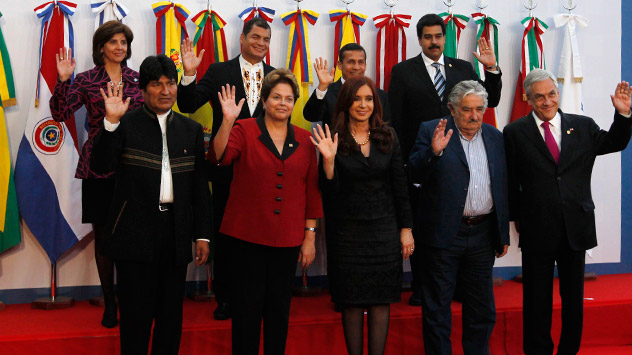 Los presidentes de Amárica Latina. Fuente: Reuters, Vostock Photo