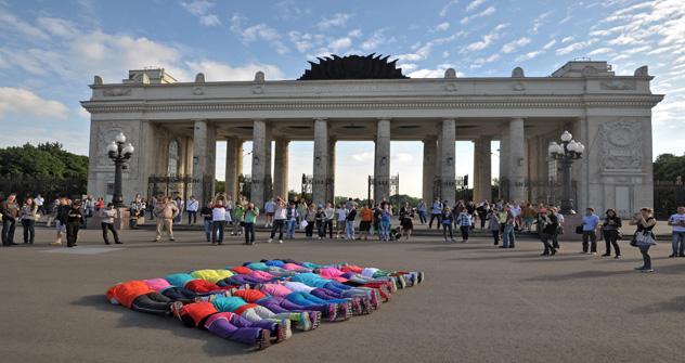 """Espacios en Moscú en los que todo el mundo """"pueda expresarse abierta y libremente sobre cualquier asunto"""". Fuente: kommersant"""