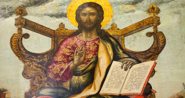Cristo pantocrátor entronado. Fuente: Ricardo Marquina Montañana.