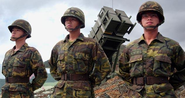 Ejército militar de China. Fuente: AP.