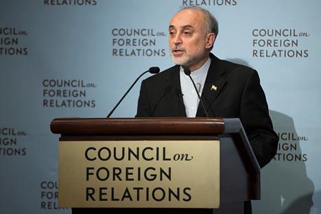 El Ministro de Asuntos Exteriores iraní Ali Akbar Salehi. Fuente: AP.