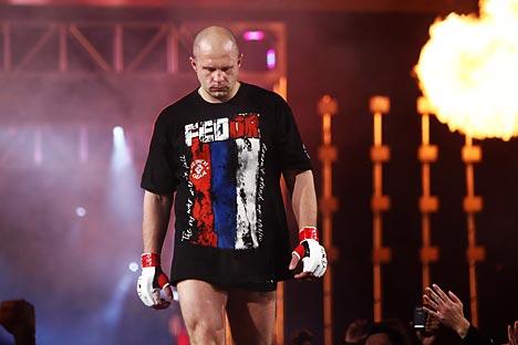 Se retira el ruso Fédor Emiliánenko, la mayor leyenda de la historia de las artes marciales mixtas. Fuente: Getty Images / Fotobank.
