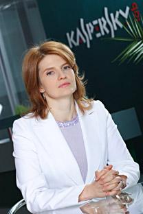 Natalia Kaspersky. Fuente: Kommersant.