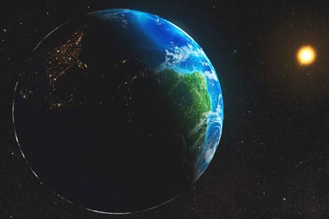 Rusia y EE UU colaboran en la puesta a punto de un programa para el estudio de la estrella y su influencia en la Tierra. Fuente: NASA / Press Photo.