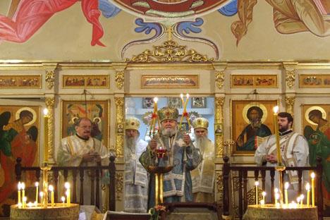Monseñor Platón ejerció el culto durante más de tres décadas. Fuente: Ana Novikova.