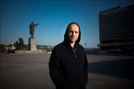 Zajar Prilepin es uno de los autores contemporáneos rusos más laureados. Fuente: Pressebild.