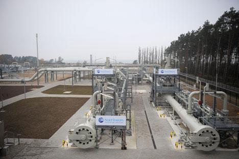 El segundo ramal del principal proyecto de política energética del Kremlin se inauguró ayer. Fuente: RIA.