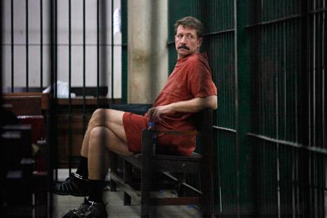 Victor Bout se encuentra encarcelado en EE UU. Fuente: Reuters.