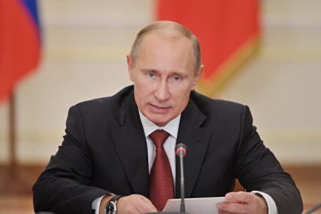 El presidente de Rusia, Vladímir Putin. Fuente: ITAR-TASS