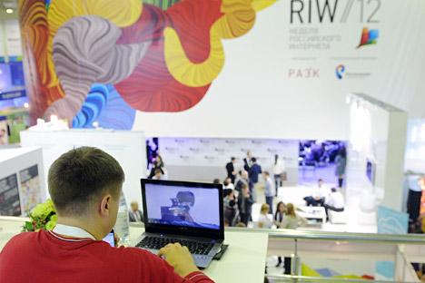 "Este semana se ha celebrado ""Russian Internet Week"" en Moscú. Fuente: ITAR-TASS"