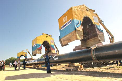 Continúa el duelo por el gas entre Ucrania y Russia. Foto: Itar-Tass.