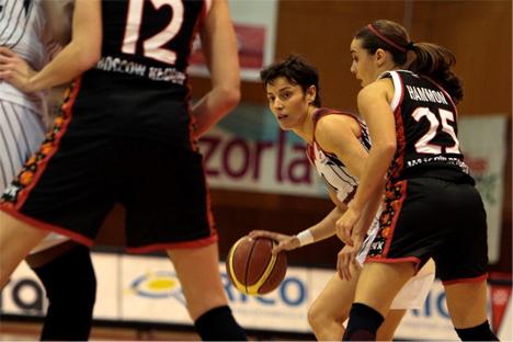 Elisa Aguilar, nueva jugadora del Spartak de Moscú, el equipo más laureado del continente en la última década, con cuatro títulos de Euroliga.