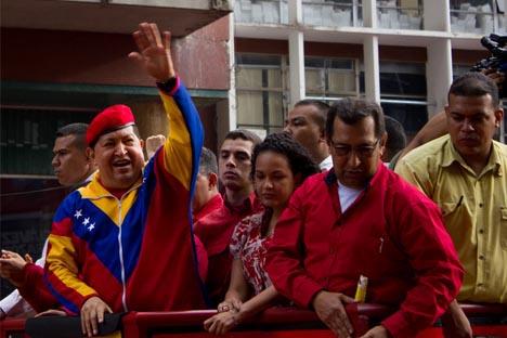 El Presidente venezolano podrá seguir promocionando su visión del mundo, en la que las relaciones con Rusia juegan un notable papel. Fuente: flickr / elsanto_wa.