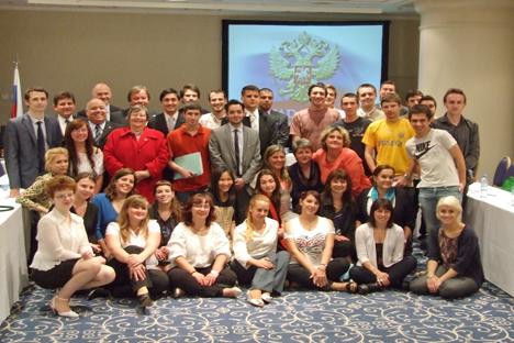 Encuentro de jóvenes de la diáspora rusa en Buenos Aires. Fuente: Ana Nóvikova.