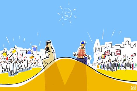 Dibujo de Alexéi Yorsh.