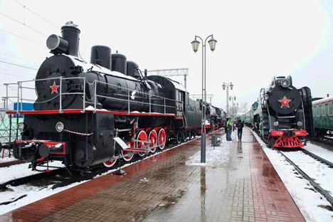 El 30 de octubre de 1837 se inauguró oficialmente la primera línea de ferrocarril en el país. Fuente: Oleg Serdechnikov.