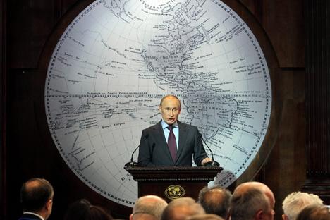 El índice de popularidad de Putin comienza a caer. Fuente: ITAR-TASS