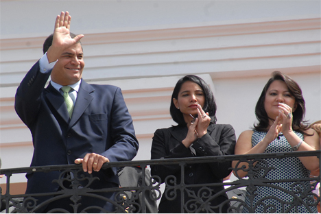 Rafael Correa, el presidente de Ecuador. Fuente: Flickr / Presidencia de la República del Ecuador