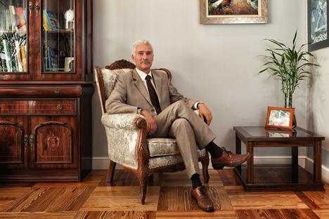 Alexéi Rubínchik delegado de asuntos económicos de la Federación Rusa en España. Fuente: Archivo personal.