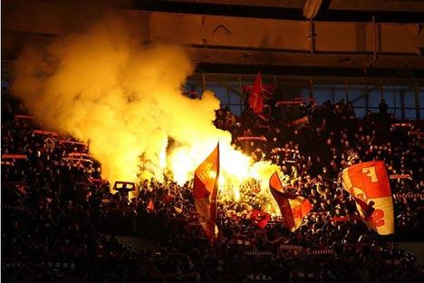 El derby ruso empañado por los disturbios entre las hinchadas. Fuente: flickr / Kate_Lokteva.