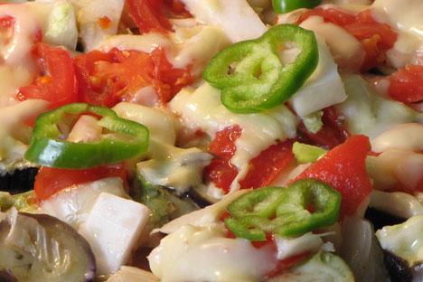 Algunos científicos opinan que pronto la dieta vegetariana será casi obligatoria para la supervivencia de la población mundial. Fuente: flickr / Thompson Sa.