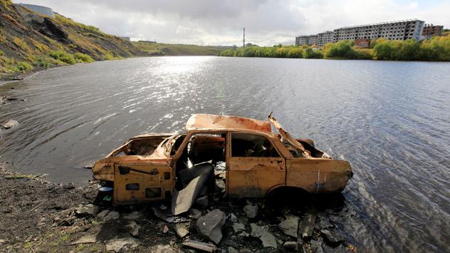 Lo más importante es querer limpiar el río o lago. Fuente: Sergey Zaitsev / RIA.