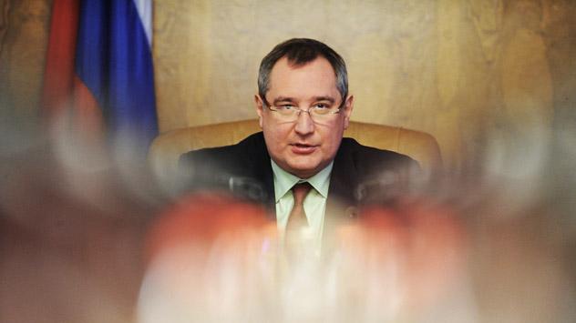 Dmitri Rogozin, viceprimer ministro ruso de la industria militar. Fuente: ITAR-TASS.