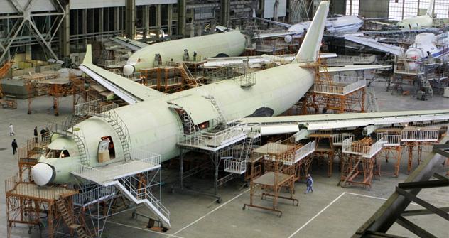 El Ministerio de Industria y Comercio apuesta por el lanzamiento de una nueva generación de materiales industriales. Fuente: ITAR-TASS